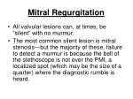 mitral regurgitation167