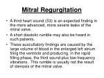 mitral regurgitation168