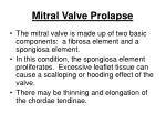 mitral valve prolapse131