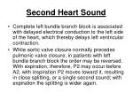 second heart sound218