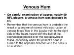 venous hum