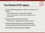 the stanford rte aligner