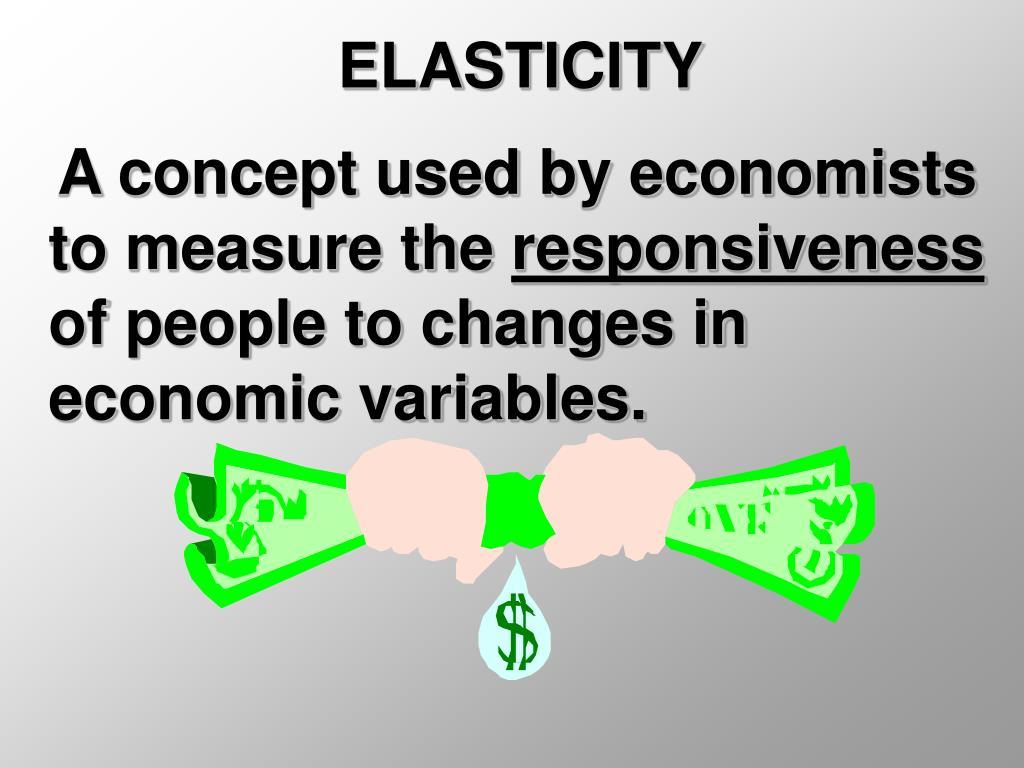 elasticity l.