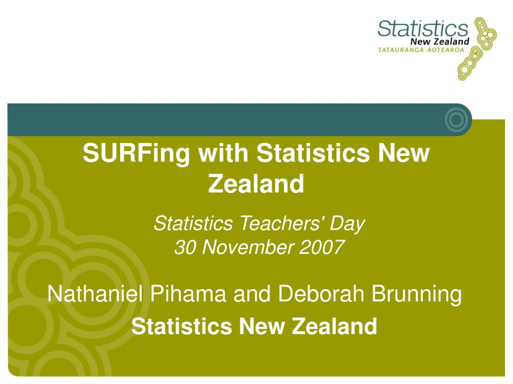 surfing with statistics new zealand l.