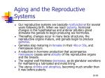 aging and the reproductive systems