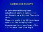 exploration invasive
