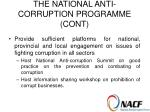 the national anti corruption programme cont12