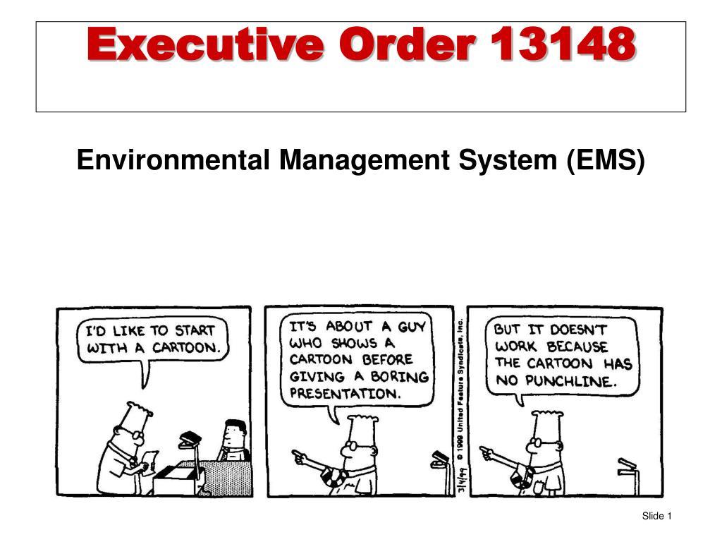 executive order 13148 l.