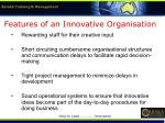 features of an innovative organisation7