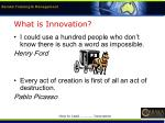 what is innovation3