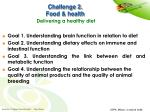 challenge 2 food health delivering a healthy diet