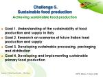 challenge 5 sustainable food production achieving sustainable food production