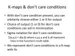 k maps don t care conditions3
