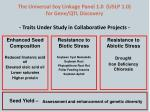 the universal soy linkage panel 1 0 uslp 1 0 for gene qtl discovery