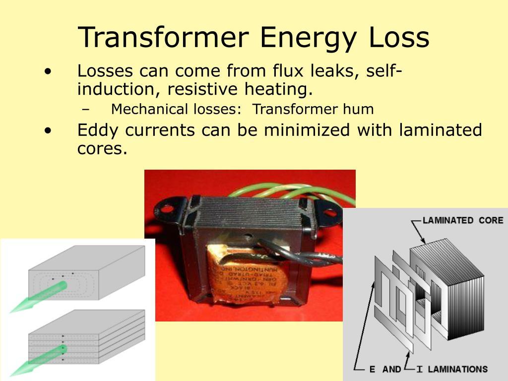 Transformer Energy Loss