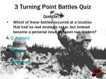 3 turning point battles quiz32