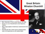 great britain winston churchill