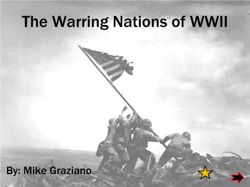 the warring nations of wwii l.