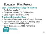 education pilot project