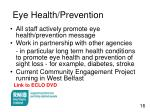 eye health prevention