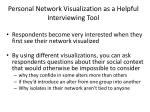 personal network visualization as a helpful interviewing tool