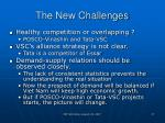 the new challenges