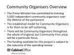 community organisers overview5