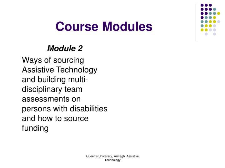 Course modules3