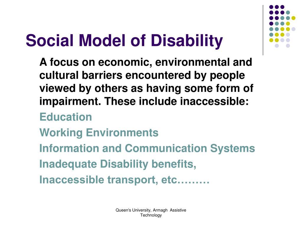 Social Model of Disability