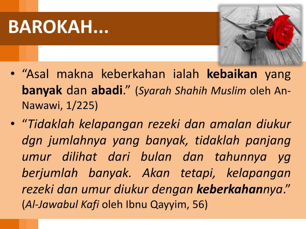 BAROKAH...