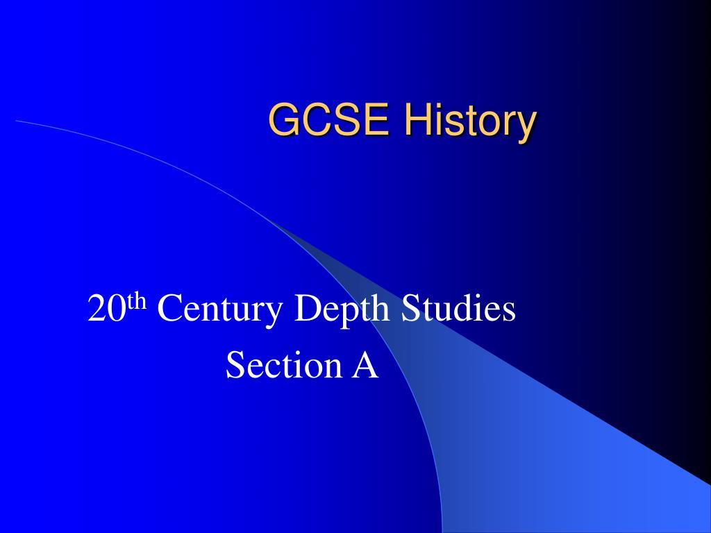 gcse history l.