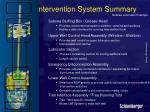 intervention system summary