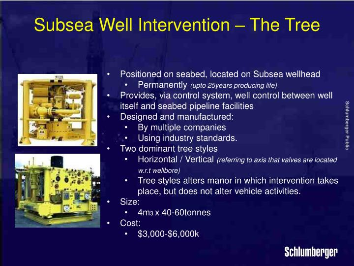 subsea intervention Subsea well intervention offers many challenges and requires much advance planning the cost of subsea intervention has in the past inhibited the intervention but in the current climate is much more viable.