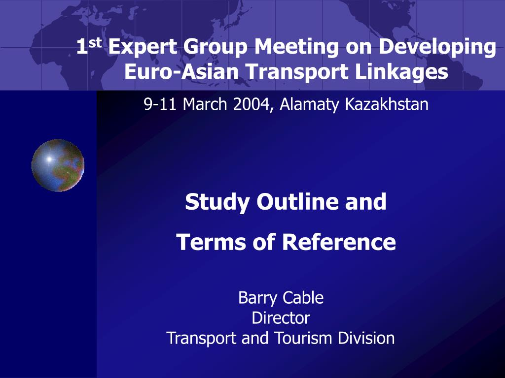 barry cable director transport and tourism division l.