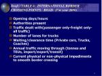 draft table 6 international border crossing points road for year 2000