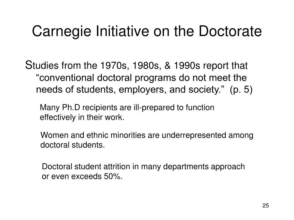 Carnegie Initiative on the Doctorate