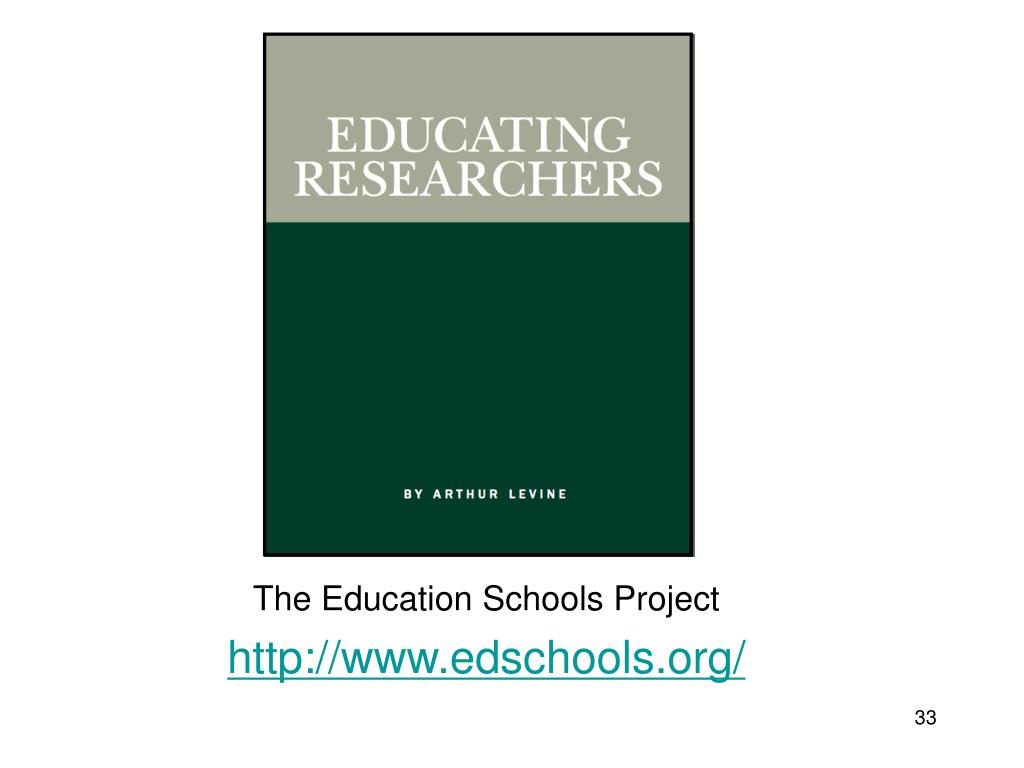The Education Schools Project