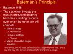 bateman s principle34