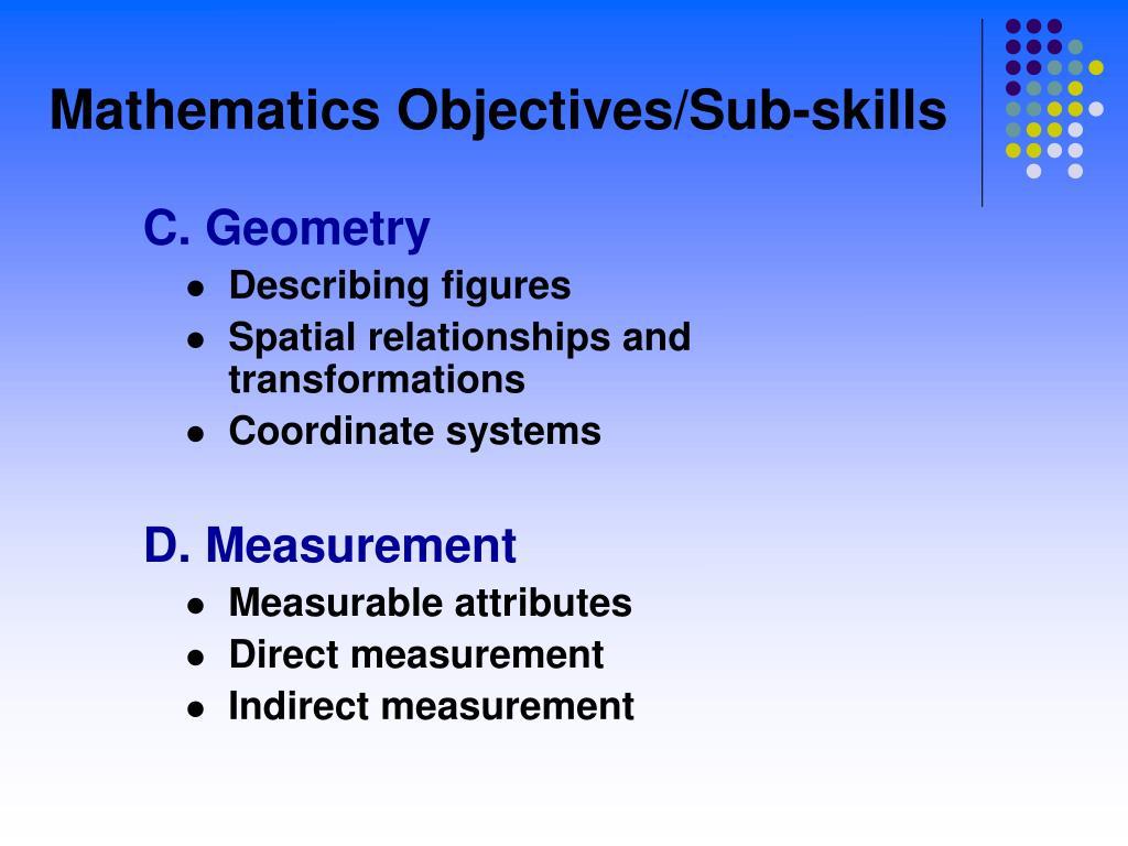 C. Geometry
