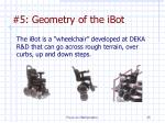 5 geometry of the ibot