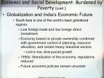 economic and social development burdened by poverty cont76
