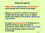 rational agents6