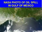 nasa photo of oil spill in gulf of mexico