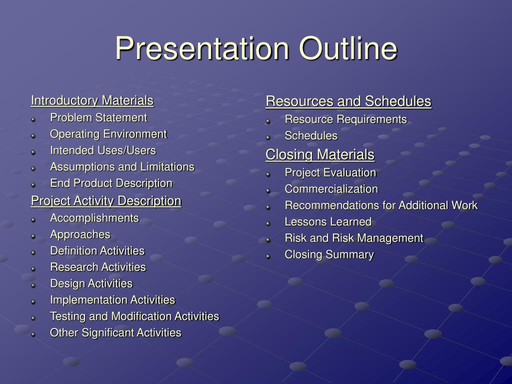 Introductory Materials