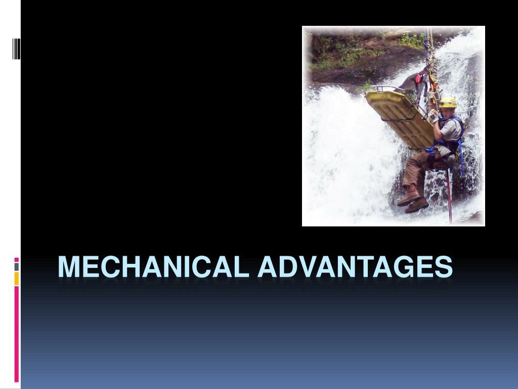 mechanical advantages l.
