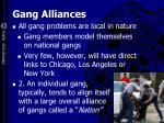 gang alliances