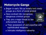 motorcycle gangs