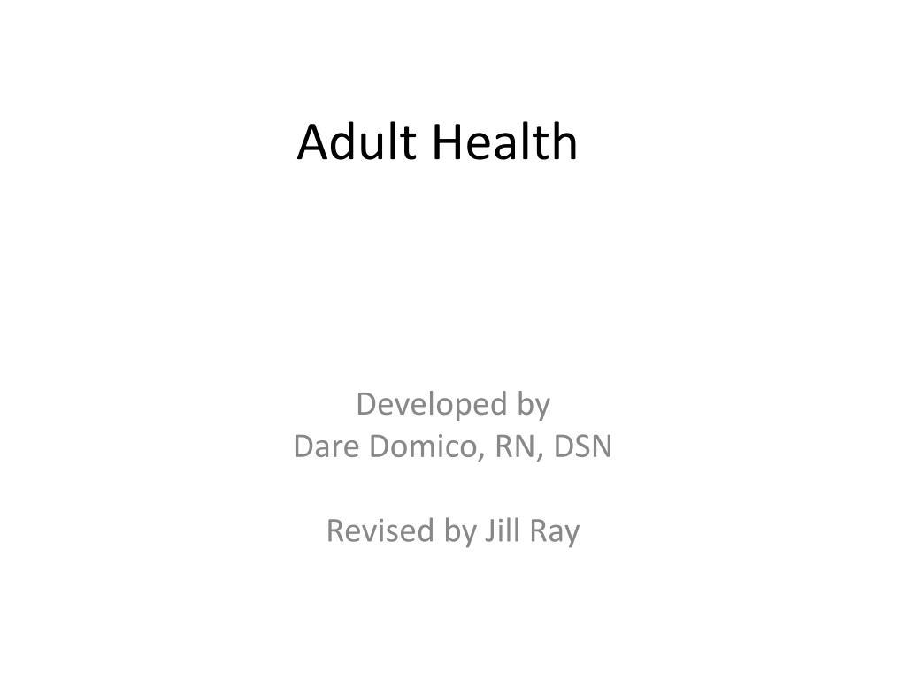 adult health l.