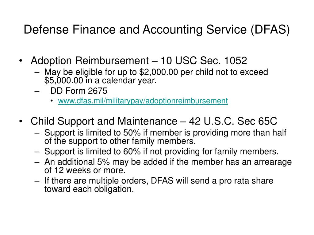 Defense Finance and Accounting Service (DFAS)