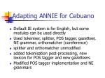 adapting annie for cebuano